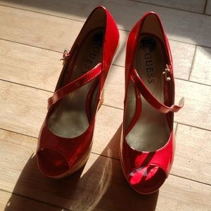 Red cork  Wedges